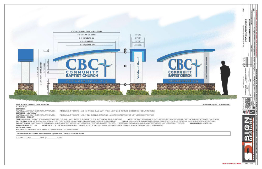 CBC Entry Sign