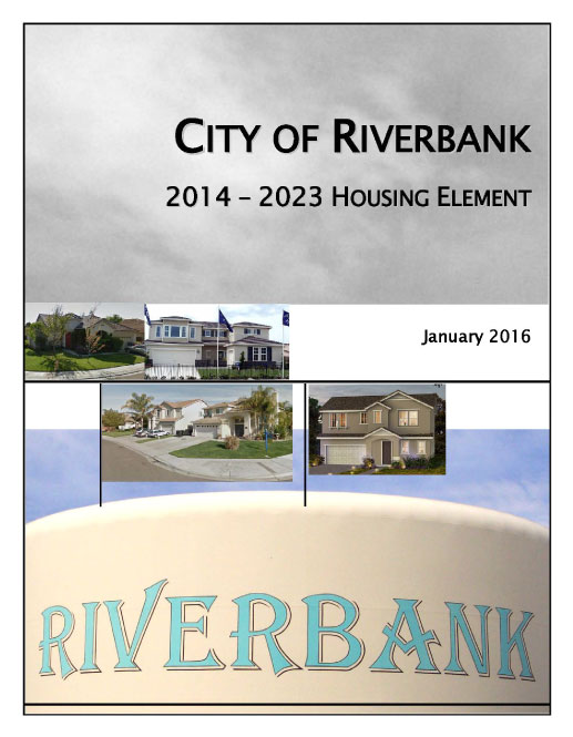 City of Riverbank 2014-2023 Housing Element