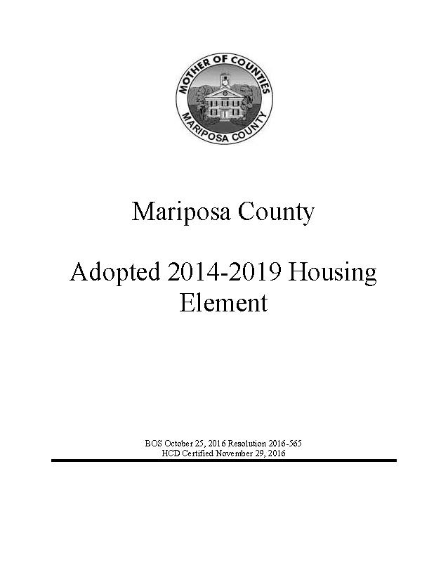 Mariposa HE 2014-2019