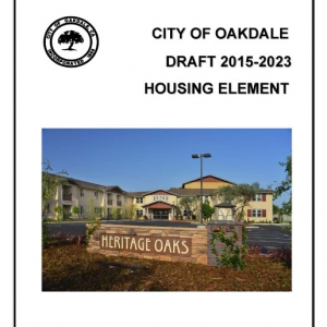Oakdale Housing Element