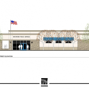 Police Station Exterior Elevations