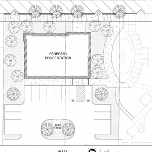 Police Station Preliminary Site Plan