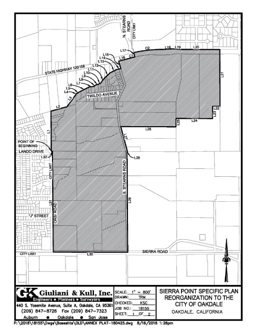 Sierra Pointe Annexation