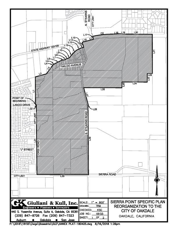 Sierra Pointe Annexation, Oakdale